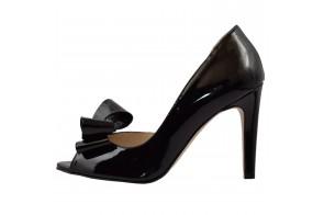Pantofi dama, din piele naturala, marca Guban, cod 1089-01-07, culoare negru