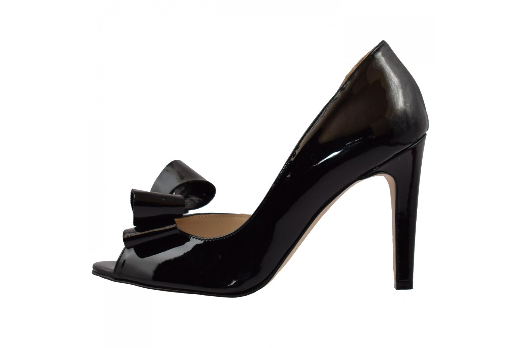 transport gratuit imagini detaliate nou ridicat Pantofi dama din piele naturala marca guban cod 1089 culoare negru