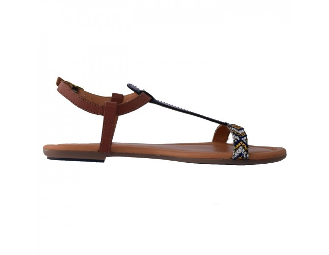 Sandale dama, din piele naturala, marca s.Oliver, 28133 07 15, bleumarin