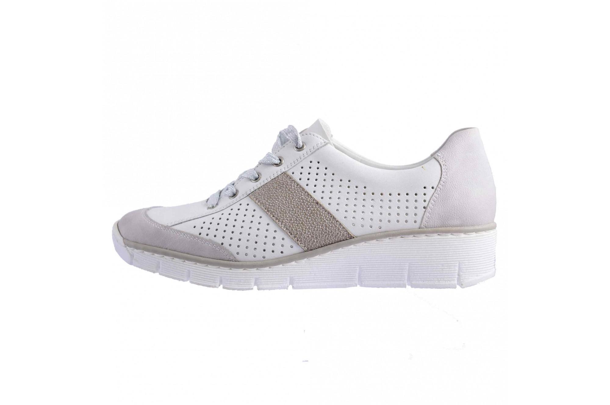 100% calitate cumpara popular pantofi de temperament pantofi sport rieker piele naturala alb psd53717