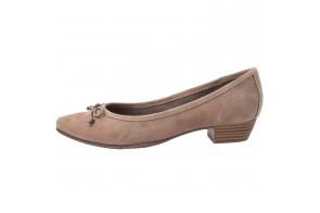 Pantofi dama, din piele naturala, marca Jana, cod 22202-03-09, culoare bej