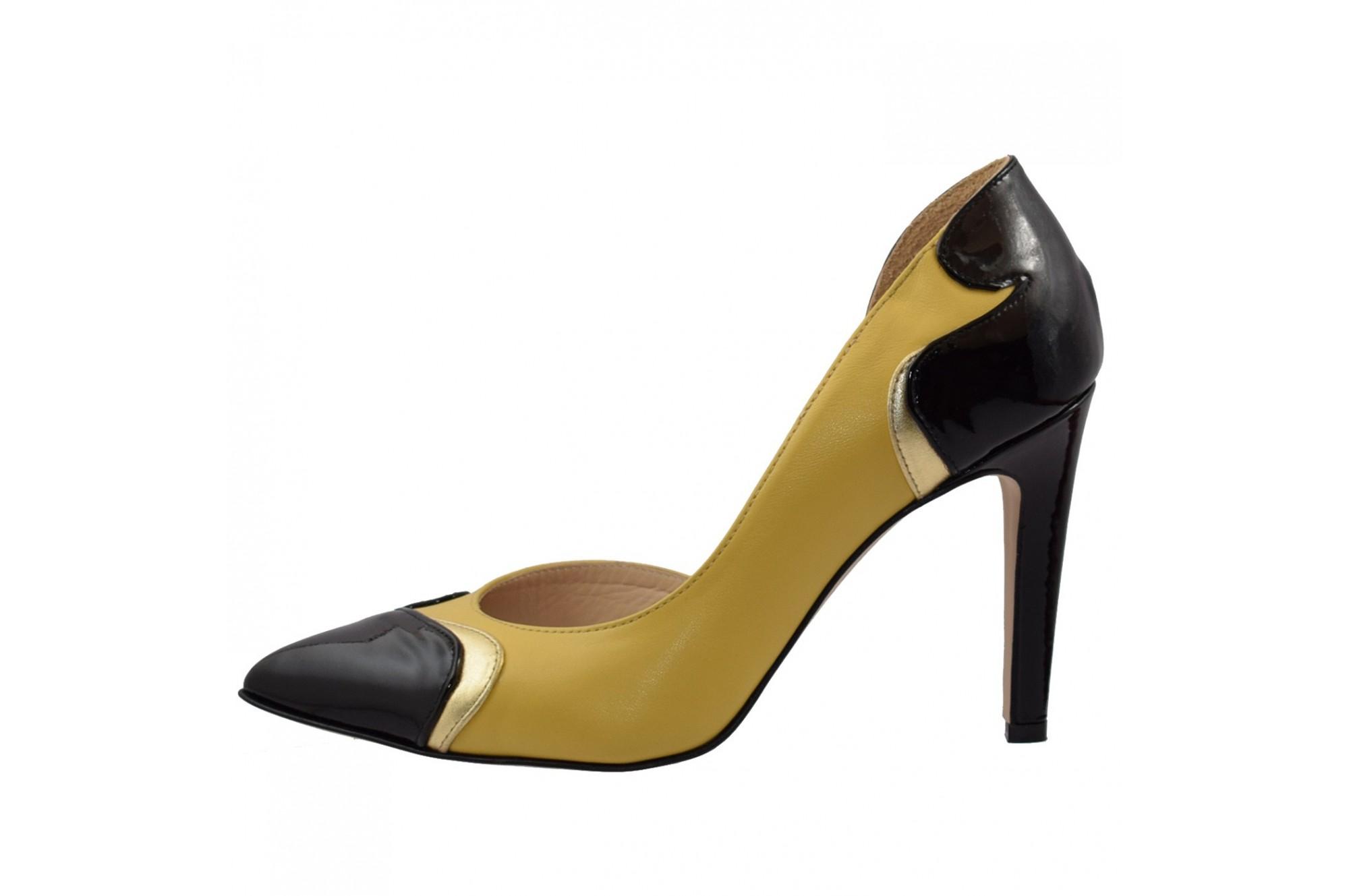 outlet online mai ieftin vânzare la cald pantofi guban din piele naturala 1587