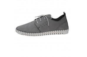 Pantofi barbati, din piele naturala, marca s.Oliver, cod 13639-14-15, culoare gri