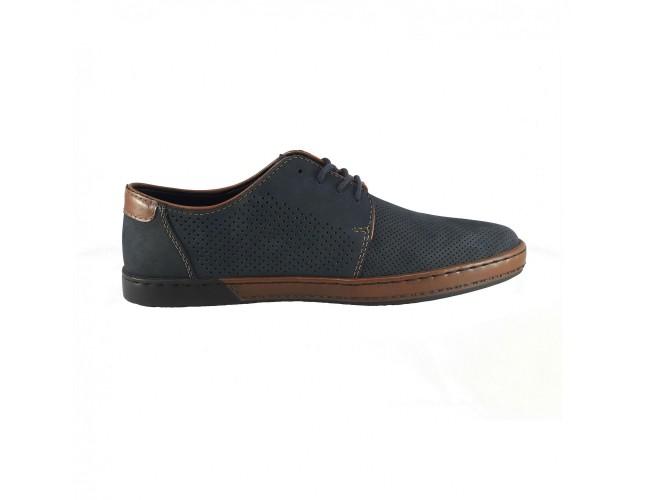 vândut în toată lumea vânzare de lichidare fara taxa de vanzare pantofi rieker piele naturala bleumarin b2820