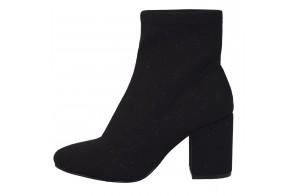 Ghete dama, din textil si sintetic, marca Gioseppo, 46186-01-12, negru