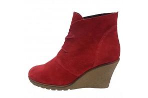 Ghete dama, din piele naturala, marca Gatta, cod 4819-05-11, culoare rosu