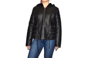 Cojoc dama, din piele naturala, marca Kurban, cod 20K-01-95, culoare negru