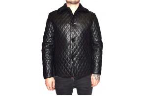 Cojoc barbati, din blana naturala, marca Kurban, cod 280-01-95, culoare negru