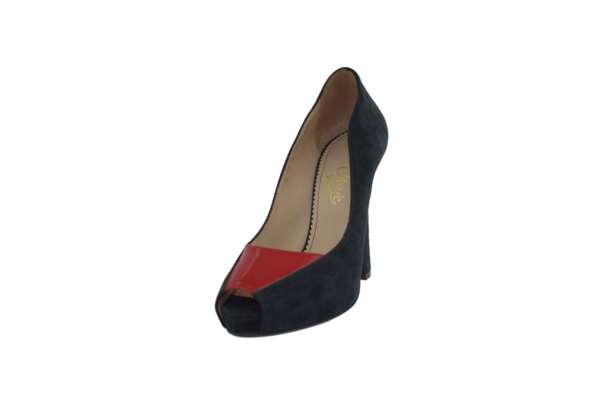 pantofi de alergare cod promoțional detalii pentru pantofi dama din piele naturala, marca guban cod 6661-42-07 culoare bl