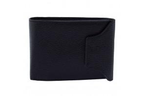 Portofel piele barbati, din piele naturala, marca Bond, 511-01B-19-19, negru