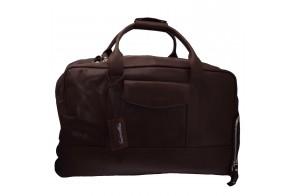 Geanta voiaj, din piele naturala, marca Tony Bellucci, T-5100-901-02-64, negru