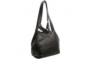 Geanta dama, din piele naturala, marca Tony Bellucci, 0335-281-01-P-64, negru