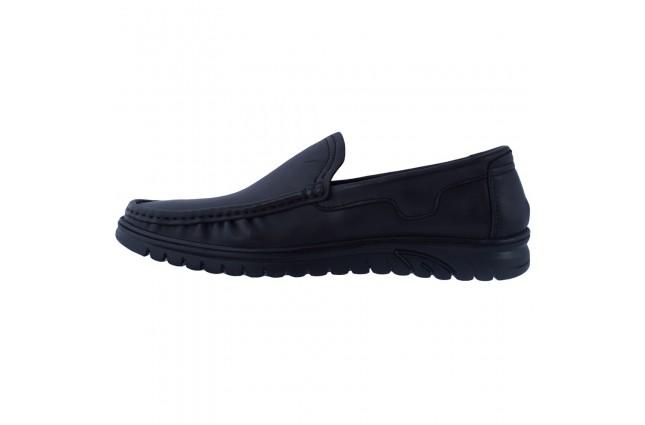 Pantofi barbati, din piele naturala, Mels, 17020-01-21-143, negru