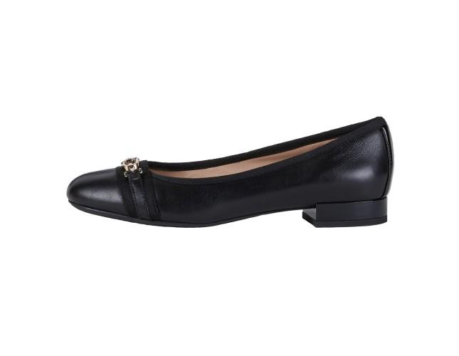 Pantofi dama, din piele naturala, Geox, D024GD-08502-C9999-01-06, negru